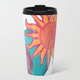 zakiaz unity baby blue sun moon Travel Mug