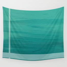 Calm Waters (Green) Wall Tapestry