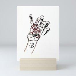 Paws Up! Mini Art Print
