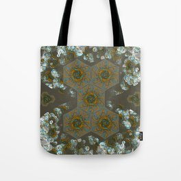 Hourglass pattern Tote Bag