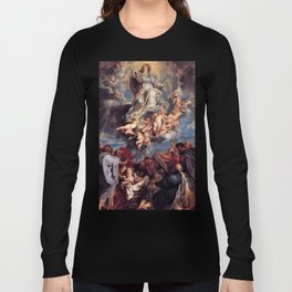 Pieter-Paul Rubens; Assumption of the Devine and Holy Virgin Mary Long Sleeve T-shirt