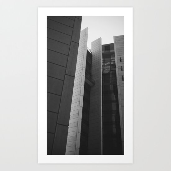 Building Vernacular  Art Print