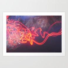 Dead Set Motion V. Art Print