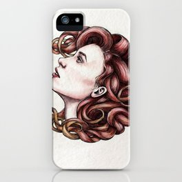 Hairball 01 iPhone Case