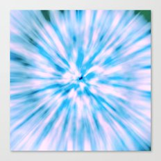TIE DYE - LIGHT BLUE Canvas Print