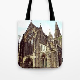 glasgow cathedral medieval cathedral Tote Bag
