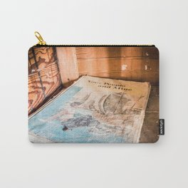 Vintage Schoolbooks, Left Behind Carry-All Pouch