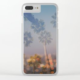 Postcard from L.A. Clear iPhone Case