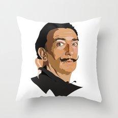 Salvador Dali - Artist Series Throw Pillow