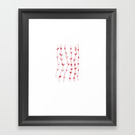shoots Framed Art Print