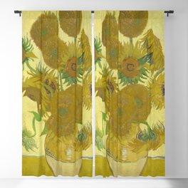 Sunflowers (Vincent Van Gogh series) Blackout Curtain