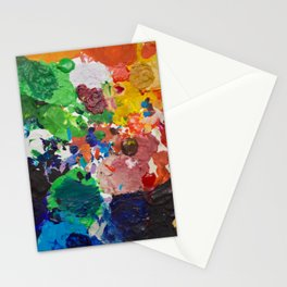 Palette of Colors Stationery Cards