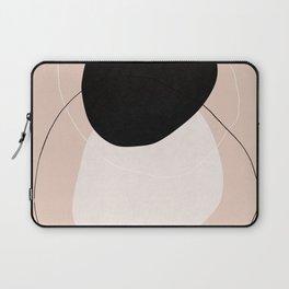 Pink Mid century modern, mid-century wall art, print, geometric wall art, abstract wall art, interio Laptop Sleeve