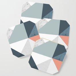 Modern Geometric 12 Coaster