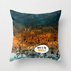 Were is the minion ? Throw Pillow