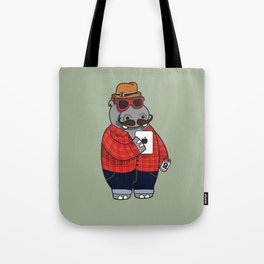 Hipposter Tote Bag
