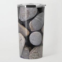 you rock sea stones italian beach lasoffittadiste Travel Mug