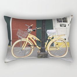 New Orleans Bicycle - Orleans Street Rectangular Pillow