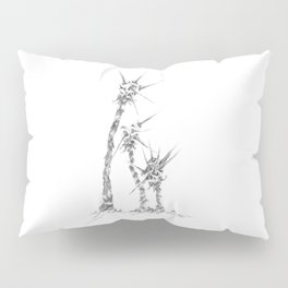 Thorny Meteor Stalks (part of the Strange Plants series) Pillow Sham