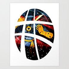 Doctor Strangegloves Art Print