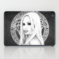 versace iPad Cases featuring Donatella Versace by Denda Reloaded