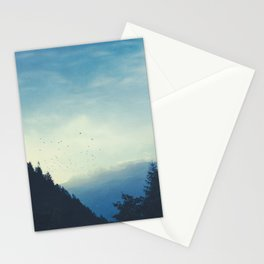 Beautiful Mountain Morning Stationery Cards
