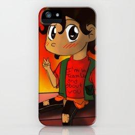 My fire Leo iPhone Case