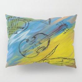 Musical Instruments Pillow Sham