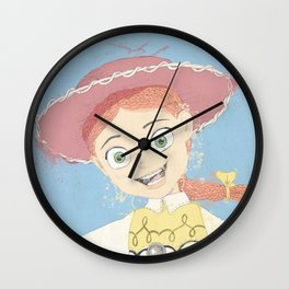 Jessie the Yodeling Cowgirl (TOY STORY) Wall Clock