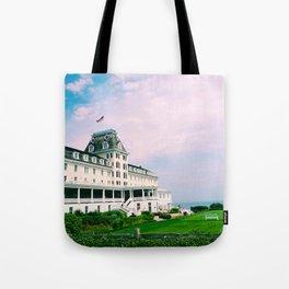 Ocean House Hotel in Watch Hill Rhode Island Tote Bag