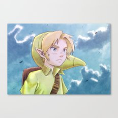 The legend of Zelda - Link kid Canvas Print