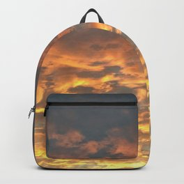 Blazing sunset Backpack
