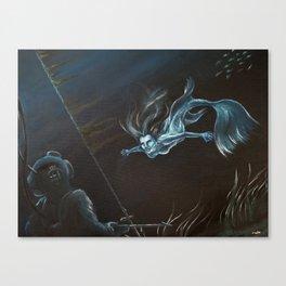 Mermaid Encounter Canvas Print