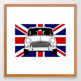 Classic Mini. Framed Art Print