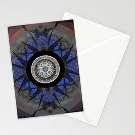 Grounding of Peaceful Power Meditation Mandala Stationery Cards