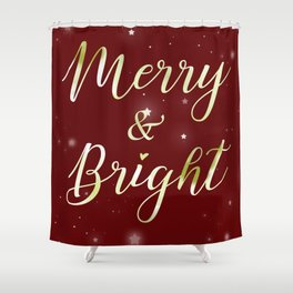 Merry & Bright Shower Curtain