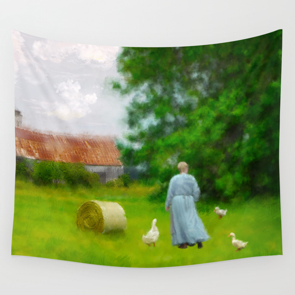God's Little Acre Wall Tapestry by Marytimman TPS2560128