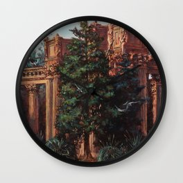 What Comes From Above Wall Clock
