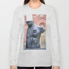 Chest in Half Long Sleeve T-shirt