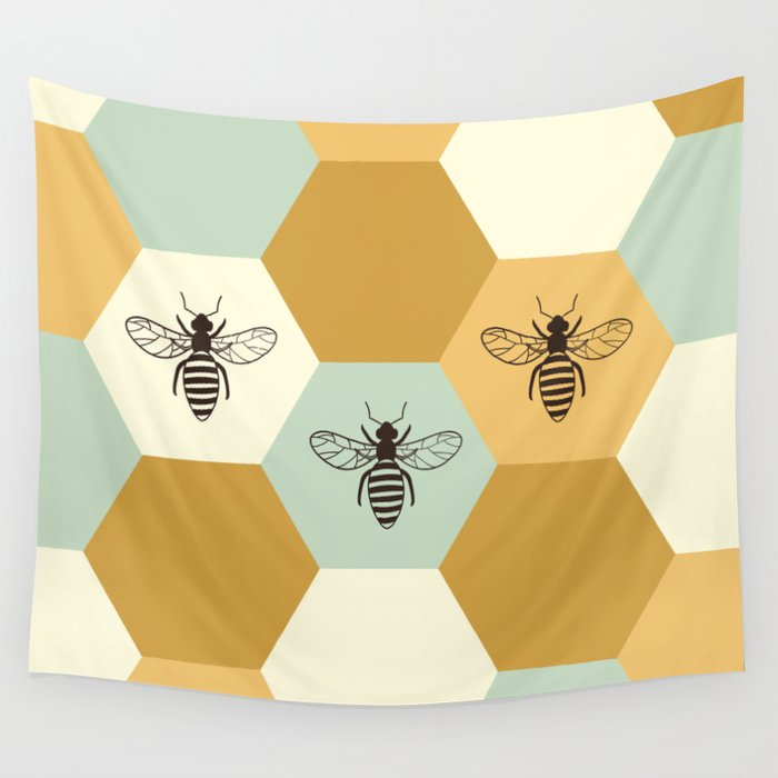 Beehive Wall Tapestry