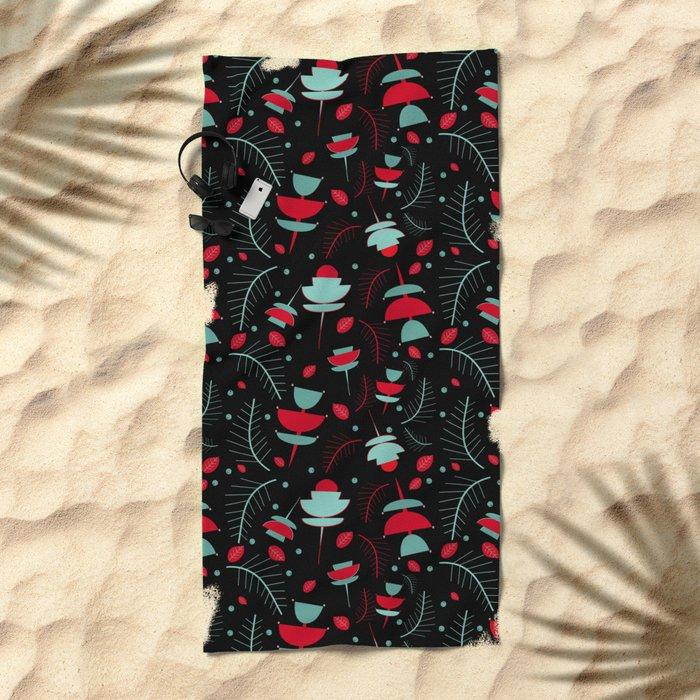 Spring floral #2 Beach Towel