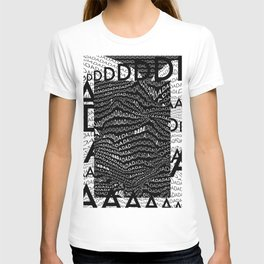 History of Art in Black and White. DADA T-shirt