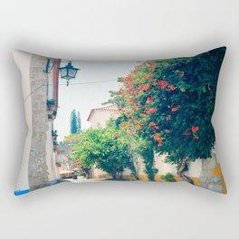 Obidos, Portugal(RR176) Analog 6x6 Kodal Ektar 100 Rectangular Pillow