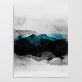 nature montains landscape Poster