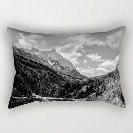 Mountain Track Rectangular Pillow