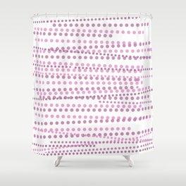 Predictive Pinkature Shower Curtain