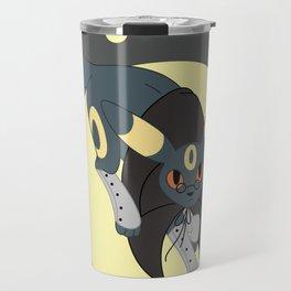 Dark Steampunk Fox Travel Mug
