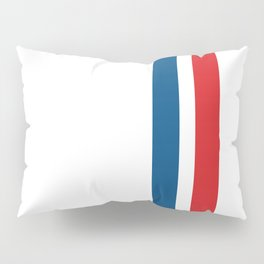 McQueen – Red and Blue Stripes Pillow Sham