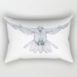 oh boo, i dove you too! Rectangular Pillow
