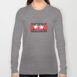 Plectrally Challenged Long Sleeve T-shirt